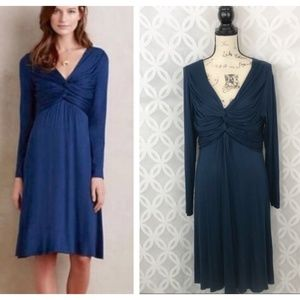 Anthro Bailey 44 Sapphire Knot Dress NWT